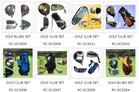Post image for Golf Equipment
